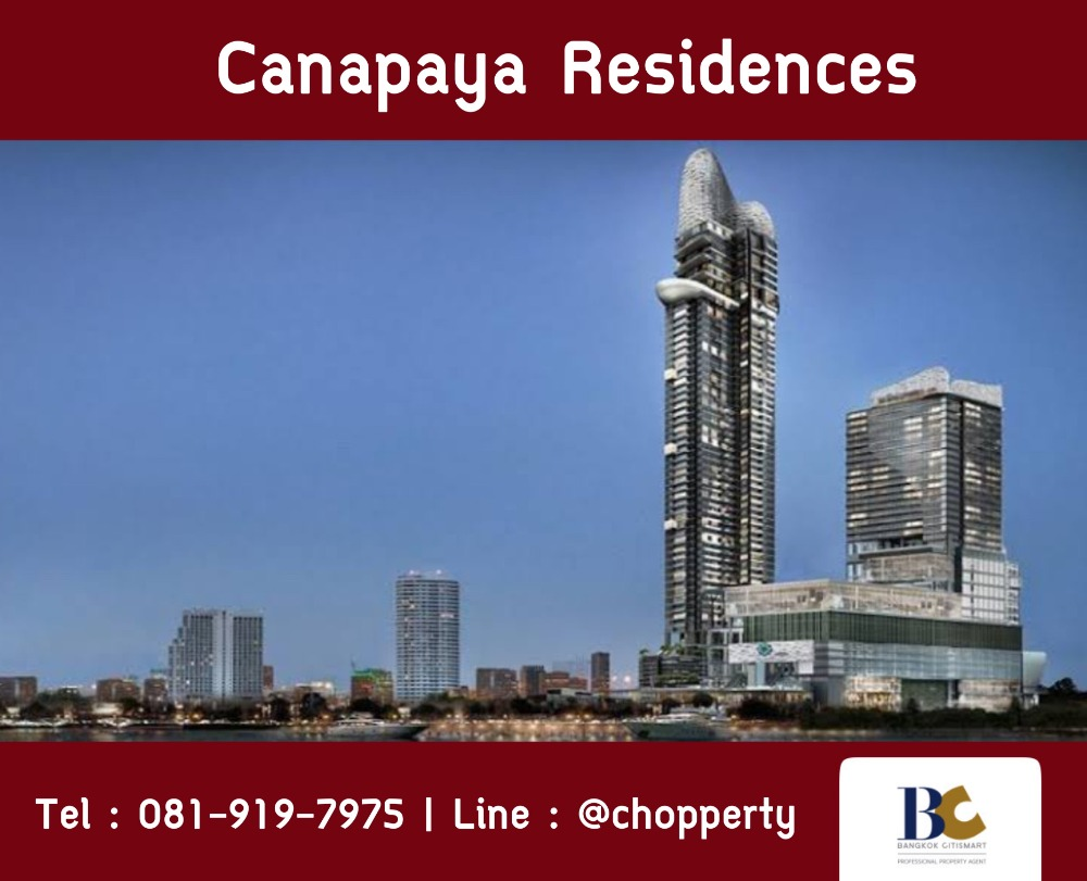 For SaleCondoRama3 (Riverside),Satupadit : * Best Price + River View * Canapaya Residences 3 Bedroom only 34 MB [Chopper 081-919-7975]